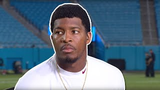 "Jameis Winston on Breaking His Losing Streak, ""To God Be The Glory"""