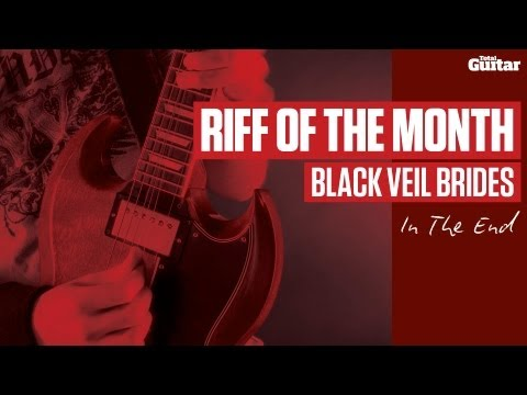 Black Veil Brides - In The End - Guitar Lesson (tg238) video