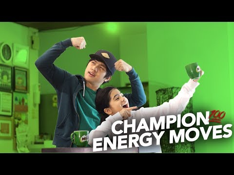 CHAMPION ENERGY MOVES | Ranz and Niana