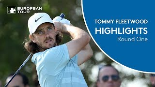 Tommy Fleetwood Extended Highlights | Round 1 | 2018 Abu Dhabi HSBC Golf Championship