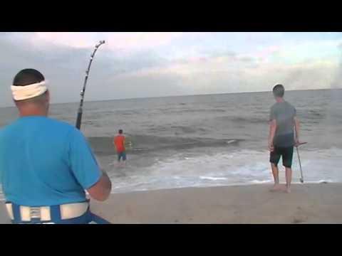 North Carolina Shark Fishing Memorial Day Fishing Trip Team Big Trouble