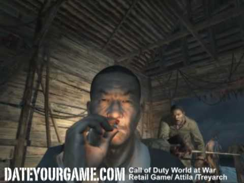 Call of Duty 5 World at War Walkthrough 1 - Semper Fi - Veteran Gameplay