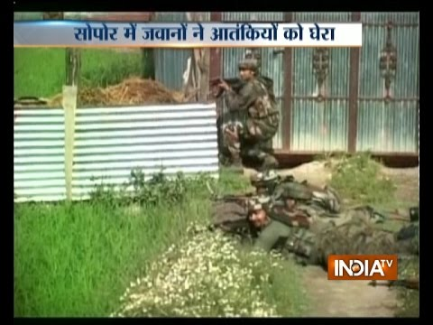 J&K: Encounter Continues as Security Forces Shot Down 1 Militant in Sopore