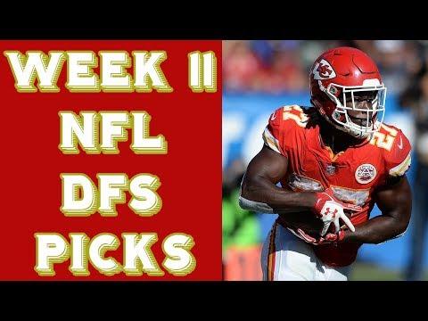 Week 11 NFL DraftKings Picks