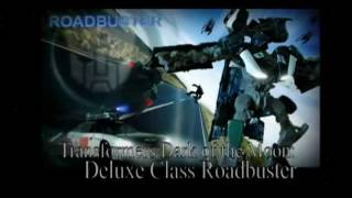 Transformers: Dark of the Moon - Roadbuster Attack in Stop Motion