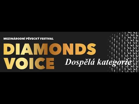 DIAMONDS VOICE 2019 - Dospělá kategorie (28.11.2019)
