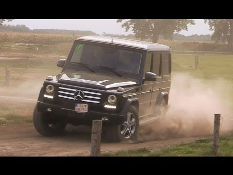 Mercedes G offroad test - Mercedes Day