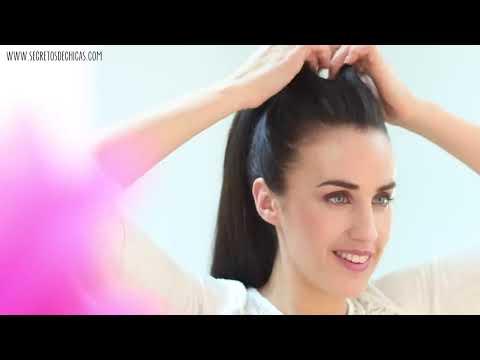 Peinados con coletas fáciles   4 opciones