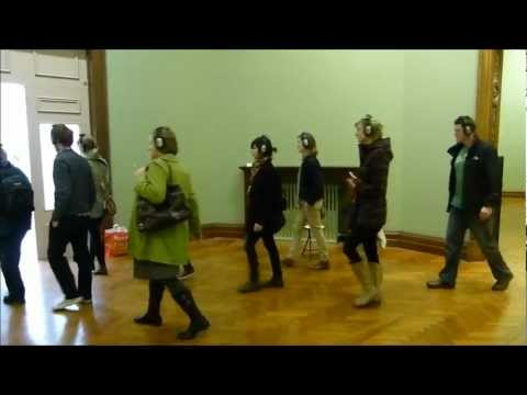 El Guia (The Guide). Performances at National Gallery, Dublin. St. Patrick's Festival. 2012