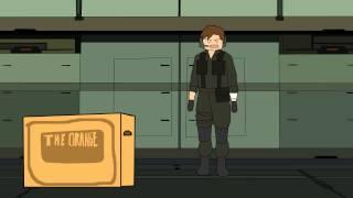Metal Gear Solid 2 Animation  - Cardboard Box