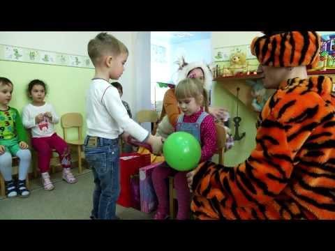 Видеосъемка дня рождения в детском саду
