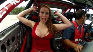 Lauren goes drifting Part 1 - MMA Candy