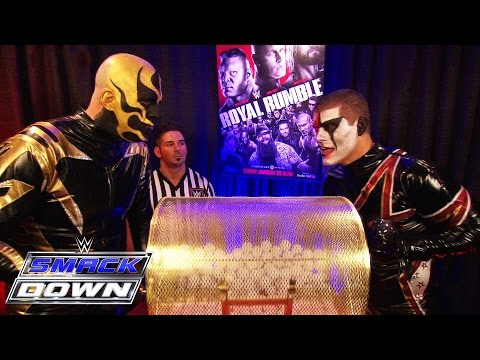 Superstars Learn What Spot They Will Hold In The Royal Rumble Match: Smackdown, January 22, 2015 video