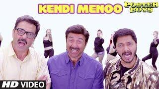 Kendi Menoo Song | Poster Boys | Sunny & Bobby Deol, Shreyas Talpade |Rishi Rich Yash, Sukriti, Ikka