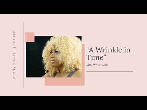 """A Wrinkle in Time"" Makeup Look 