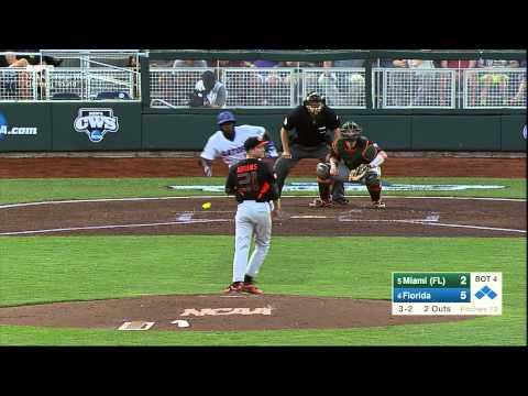 Miami vs UF- College World Series June 13, 2015