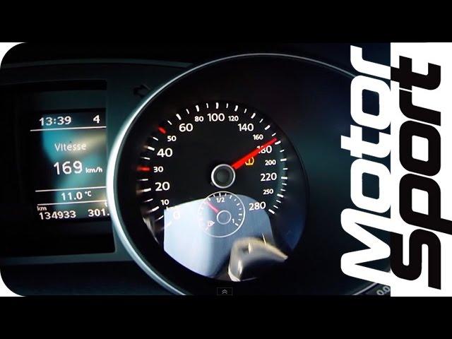 0-250 km/h : VW Golf GTI 410 PS by APR (Motorsport)