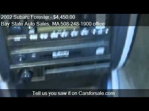 2002 Subaru Forester L for sale in Charlton, MA 01507 at Bay