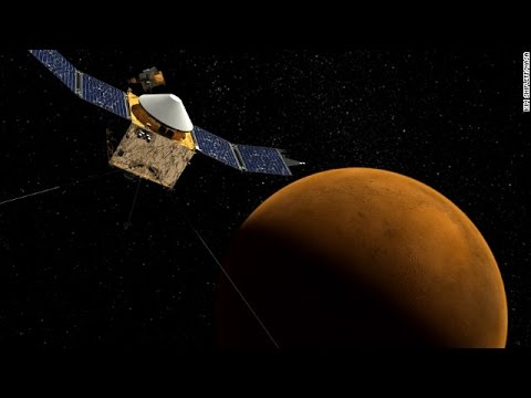 MAVEN spacecraft enters Mars orbit to explore its climate change