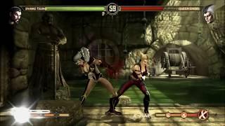 Mortal Kombat 9: Story Mode Character Swaps