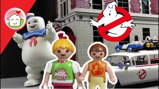 Playmobil Ghostbusters Film deutsch - Familie Hauser im Kino - NEUHEITEN 2017 - Family Stories