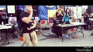☆Johnny Lo - Sing @ Fresno Hmong New Year 2016☆