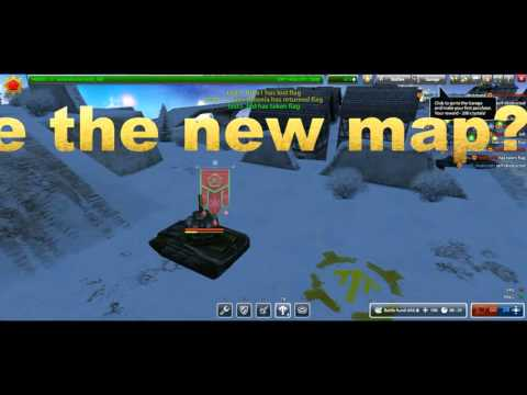 Tanki Online Gameplay #1 The new Christmas map(test server)
