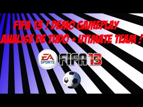 Arsenal X Man. City  Fifa 13 Demo