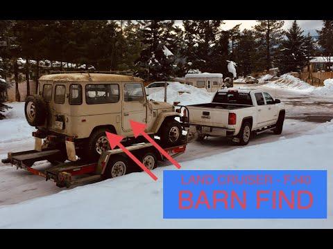 FJ40 Barn Find