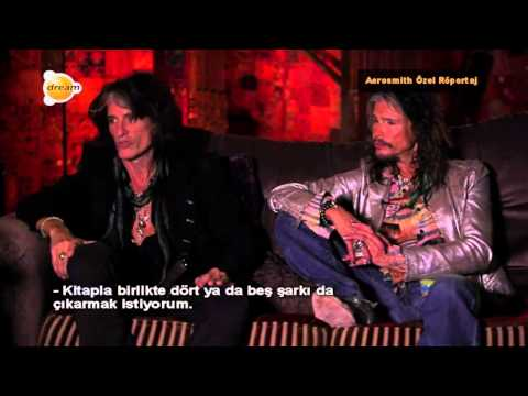 AEROSMITH INTERVIEW with Steven Tyler and Joe Perry (2014)