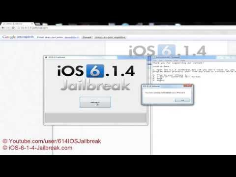 (With Proof) How To Jailbreak iOS 6.1.4 System - Untethered iOS 6.1.4 Jailbreak (2013)