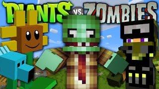 Minecraft - PLANTS VS ZOMBIES MOD