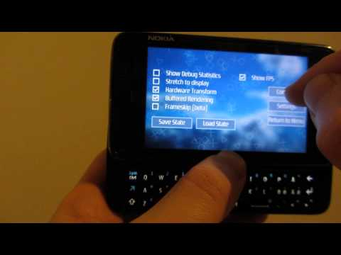 ppsspp-0.7 on Nokia N900/Maemo5 - test cube