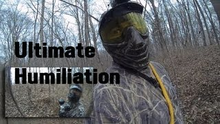 Best Woodsball Game FPS Paintball Fail in the Woods Outlaw Woodsball Pwnd Sneak Attack War
