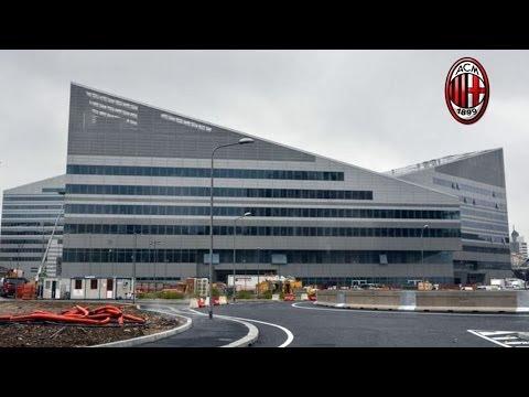 Introducing New AC Milan Office Via Aldo Rossi