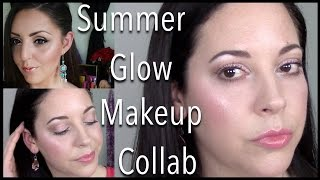 Daytime Summer Glow Makeup Tutorial | Collab with Lavish Luxe Beauty!