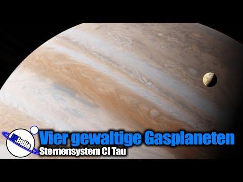 Vier Gewaltige Gasplaneten entdeckt