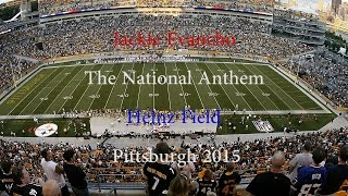 Jackie Evancho - The National Anthem - Heinz Field - 2015