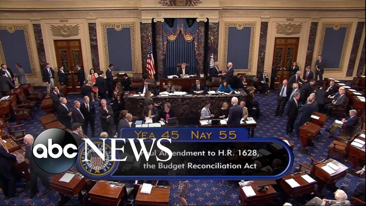 Senate measure to repeal Obamacare fails