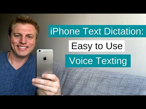 iPhone Text Message Dictation: Easy to Use Voice Texting!