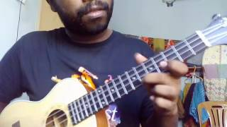 Modhu Hoi hoi (Ukulele Instrumental) covered by Angon- A tribute to Imran Vai