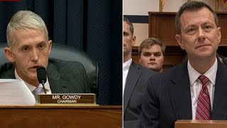 Rep. Trey Gowdy questions FBI's Peter Strzok in fierce grilling