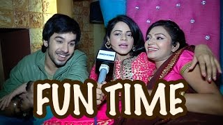 Thapki and Bihaan's masti from the sets of Thapki Pyar Ki