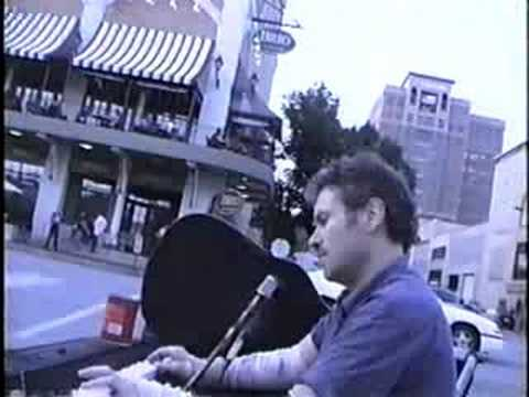Danny Croman-ized-excerpts:Drift Away (take 2, starts as solo, ends as duo), Ga. On My Mind, Revolution, & Jessica-Street Cam K.C. Plaza-late7-08