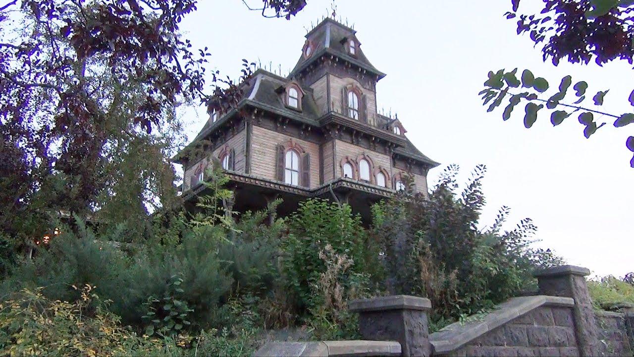 Phantom Manor At Disneyland Paris Full Pov Ride Experience