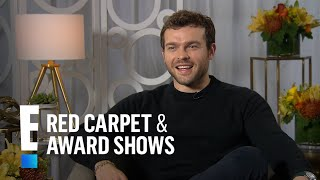 Alden Ehrenreich Talks Reaction to Landing Han Solo Role | E! Live from the Red Carpet