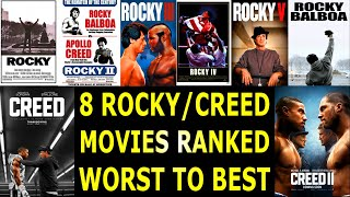 8 Rocky & Creed Movies Ranked From Worst To Best