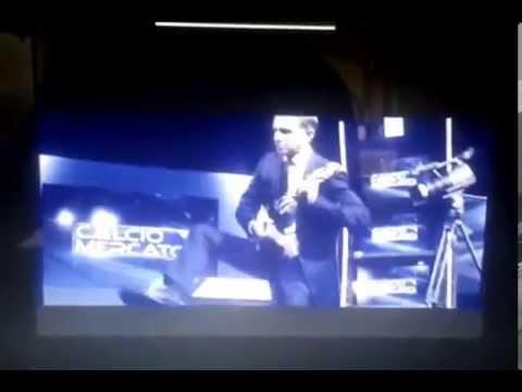 """Video backstage fotografico """"Melioni di Melioni"""" Sky Sport Speciale Calciomercato 2012"""