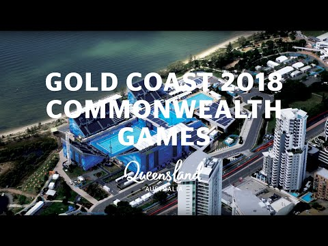 Gold Coast Welcomes The Gold Coast 2018 Commonwealth Games
