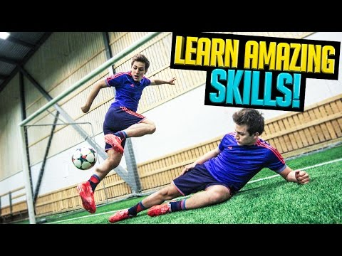 Football Skills AMAZING Tutorial ★ SkillTwins/Ronaldo/Messi Skills